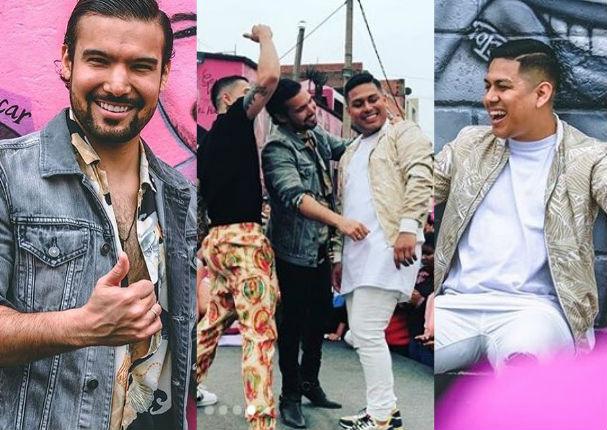 César Vega,EzioOliva y Andy Rivera grabaron videoclip en 'Las Caras deAtahualpa'