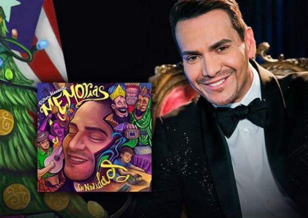 Víctor Manuelle celebra el éxito de su álbum 'Memorias de Navidad' (VIDEO)