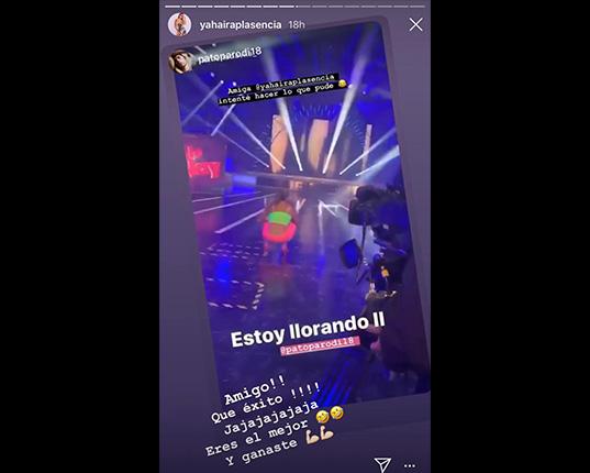 Yahaira Plasencia reaccionó así al ver su imitación por Patricio Parodi (VIDEO)
