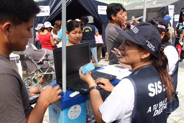 Todos los peruanos podrán acceder al SIS sin importar su condición económica