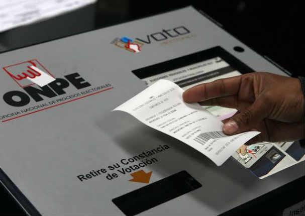 Estos son los distritos de Lima y Callao que aplicarán el voto electrónico