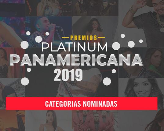 Premios Platinum 2019: Estos son los artistas nominados