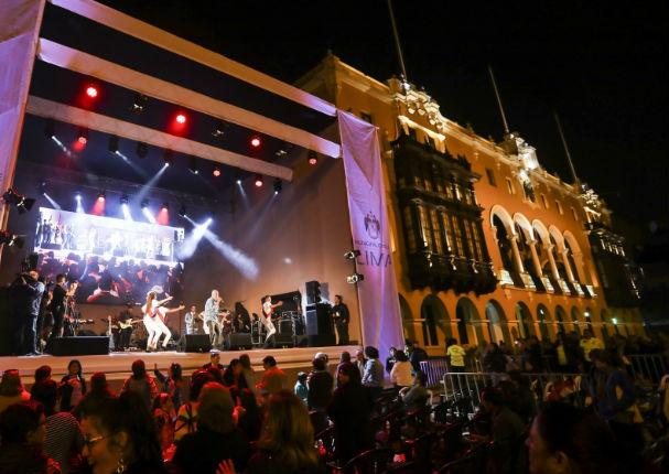 Conciertos gratuitos por el aniversario de Lima
