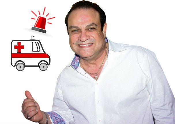Tony Vega fue encontrado inconsciente en su hotel