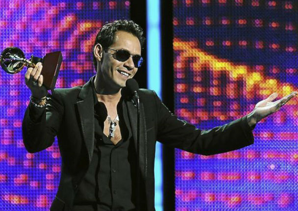 Marc Anthony se lleva un Grammy de manera inédita