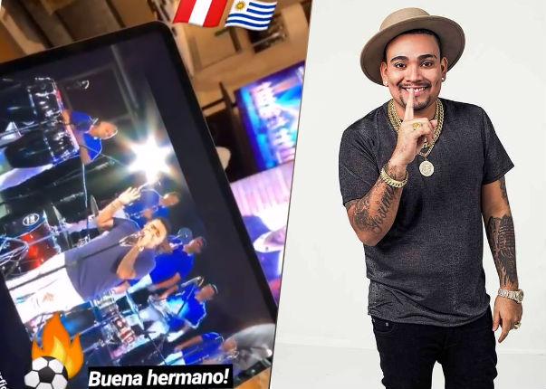 Reconocido futbolista uruguayo saluda a Josimar por su gira europea