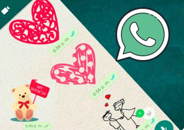WhatsApp implementa esta función por el día de San Valentín