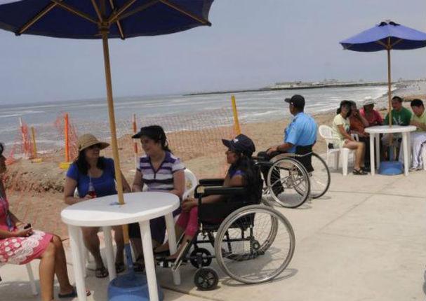 Personas con discapacidad podrán disfrutar con mayor facilidad de la playa