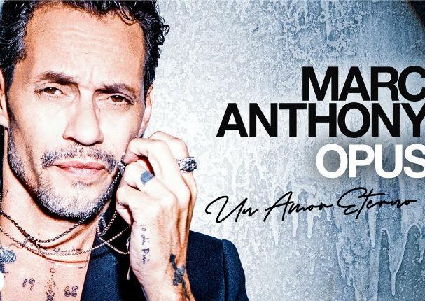 Marc Anthony presenta su nuevo disco 'Opus'