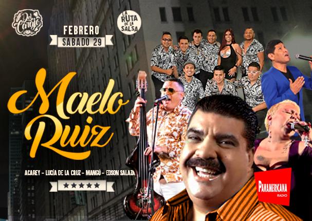 Después de mucho tiempo... Maelo Ruiz, ¡en vivo!