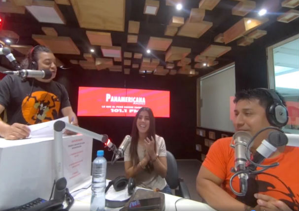 Yahaira Plasencia se divirtió con Dos por la Mañana
