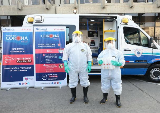 Minsa: 'Actualmente estamos procesando 250 muestras por coronavirus'