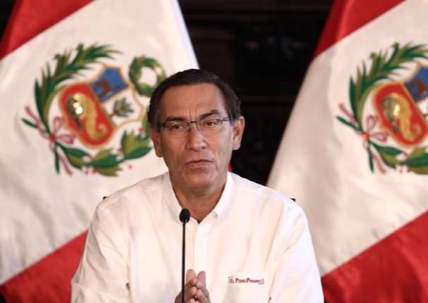 Martín Vizcarra amplía estado de emergencia hasta el 12 de abril