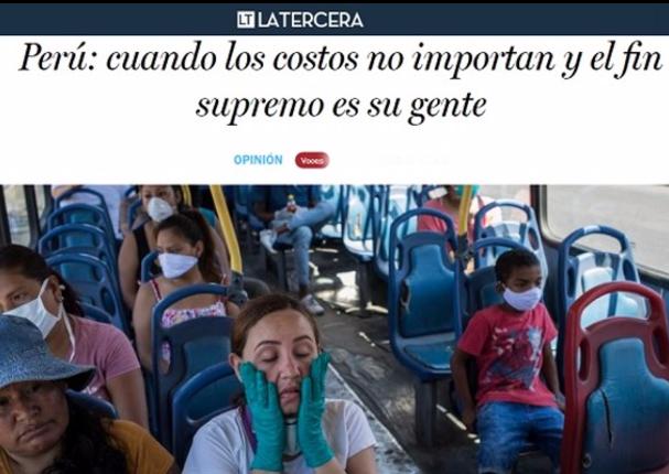Importante diario chileno celebra actitud del gobierno peruano