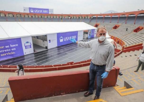 Plaza de Acho será utilizada como albergue para indigentes