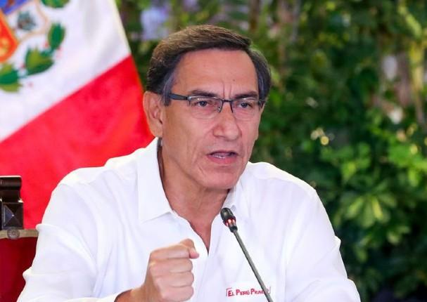 Presidente Vizcarra asegura que es momento de reformar las AFP