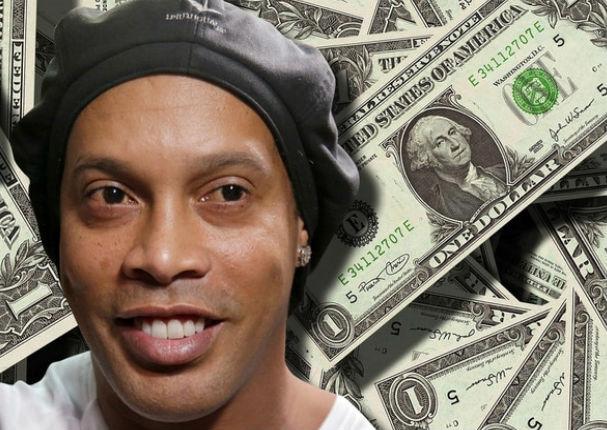 Conoce de dónde sacó Ronaldinho el dinero para salir de la cárcel en Paraguay
