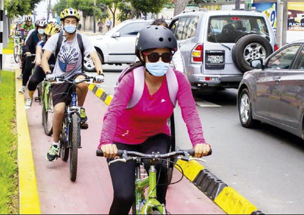 Bicicletas serían el transporte ideal para evitar aglomeraciones