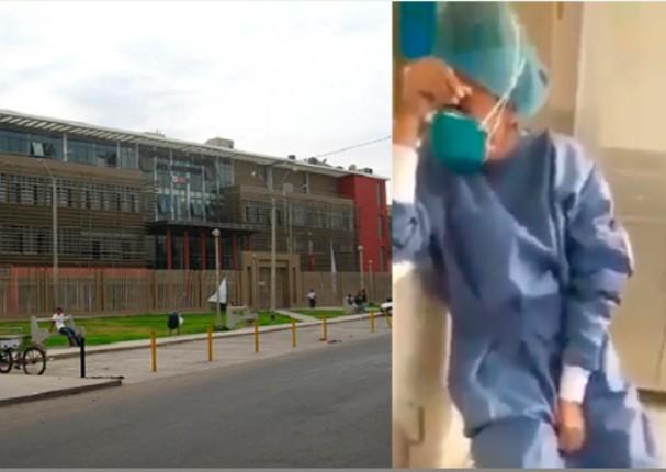 Enfermera rompe en llanto cuando se entera que se contagió de coronavirus