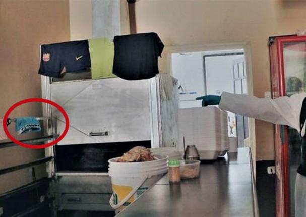 Encuentran calzoncillos en restaurante que realizaba delivery de pollo a la brasa