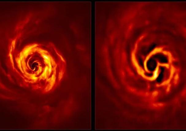 Telescopio capta el nacimiento de un planeta