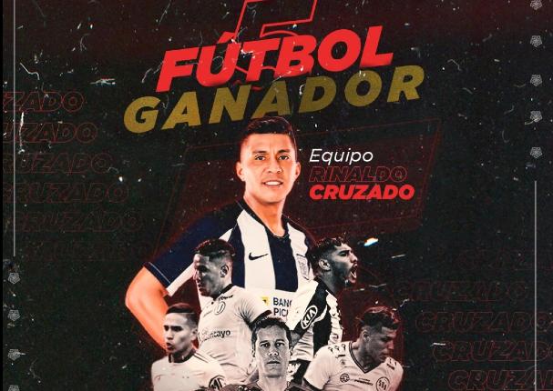 Equipo de Rinaldo Cruzado vence en la primera edición de fútbol 5 de la Liga 1