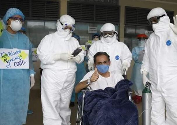 Peruano supera el coronavirus tras estar 28 días conectado a un ventilador mecánico