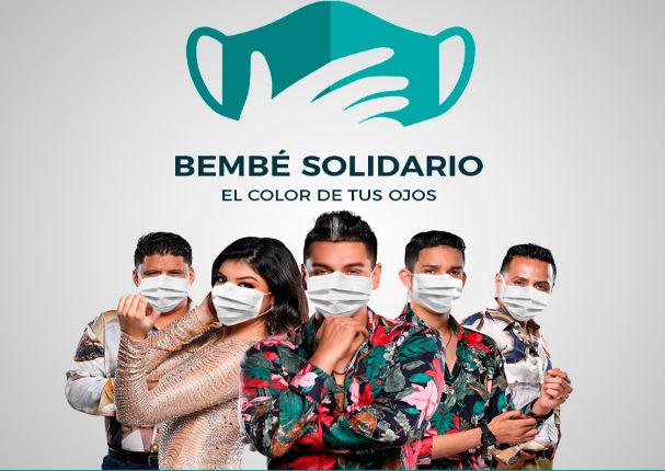 Bembé se solidariza y lanza campañas para ayudar a comedores populares