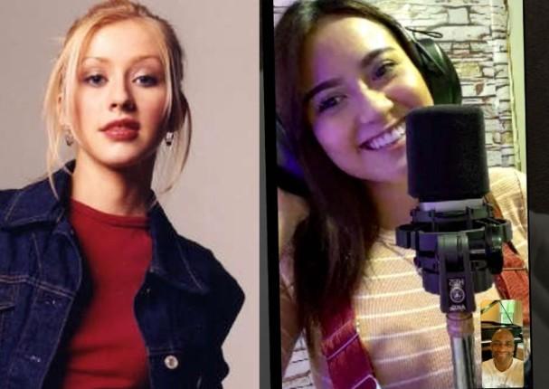 Sergio George asegura que Amy Gutiérrez le recuerda a Christina Aguilera