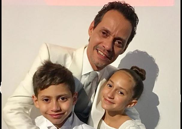 Marc Anthony recibe tiernos mensajes por el Día del Padre