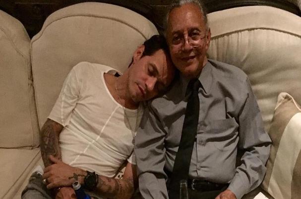 Marc Anthony dedica emotivo tema a quien considera su padre musical
