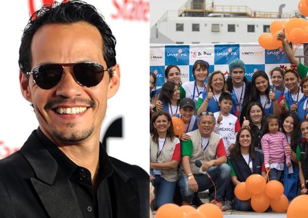 Marc Anthony dona 200 mil dólares a fundación en el Perú