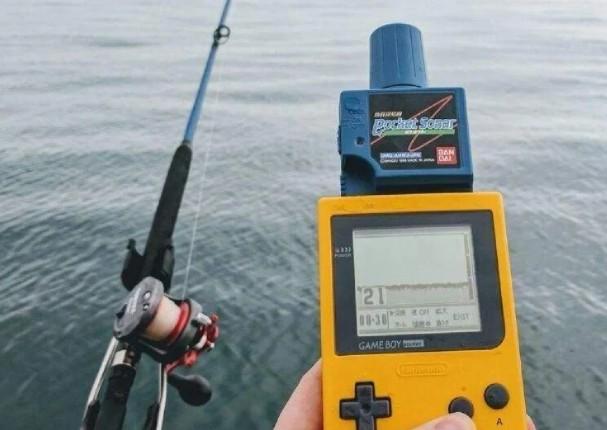 Videojuego permitía pescar con curioso accesorio que pocos conocen