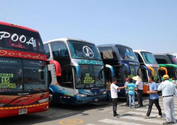 Viajes interprovinciales comenzarán a funcionar a partir del 15 de julio