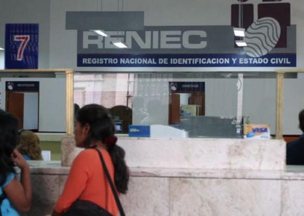 Reniec brindará algunos servicios tras su retorno a la atención al público