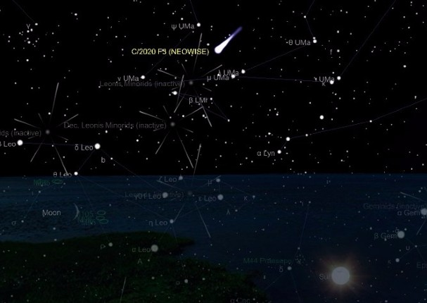 Cometa que no se volverá a ver hasta el año 8766 será visible en cielo peruano