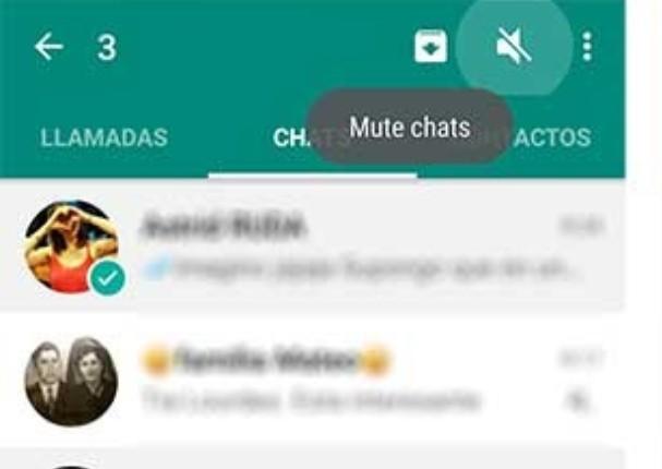 WhatsApp habilitará función para silenciar un grupo por siempre