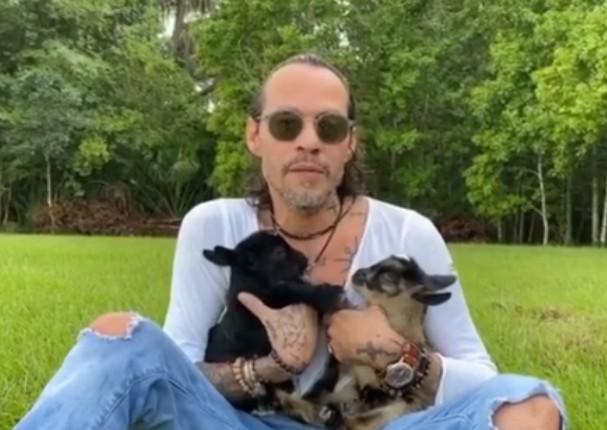 Marc Anthony confiesa que se reconecta con la naturaleza y rescata animales
