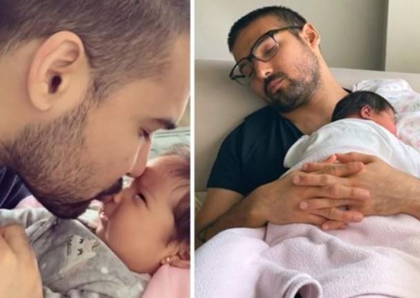 Ezio Oliva celebra la recuperación de su pequeña hija