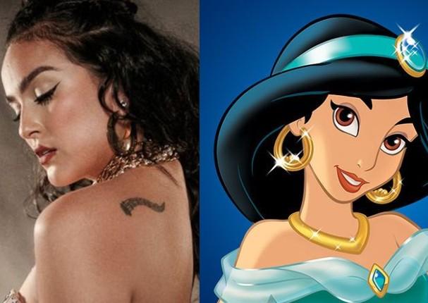 Daniela Darcourt se luce como la princesa Jasmín de Disney