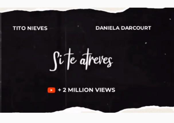 'Si tú te atreves' alcanza 2 millones de reproducciones y anuncia videoclip