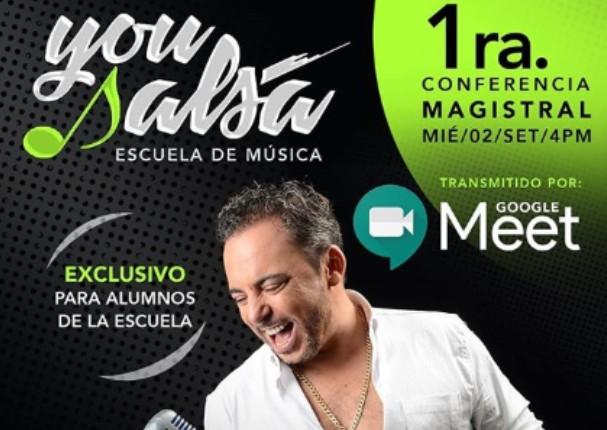Marcos Llunas será el invitado en la primera conferencia magistral de You Salsa