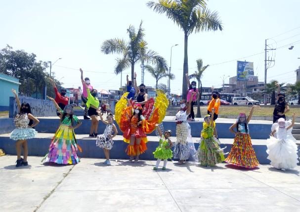 Niños recibirán la primavera con desfile de ropa reciclada