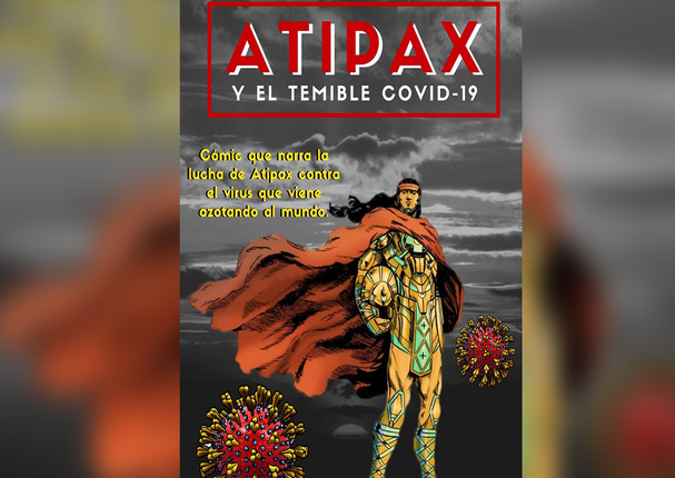 Publican cómic acerca de superhéroe inca que vence el Covid