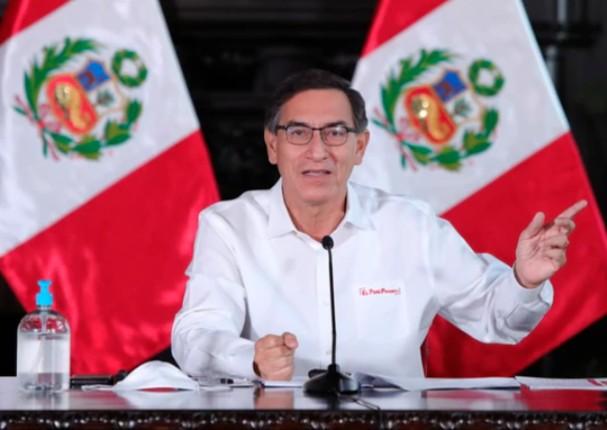 Presidente asegura que el Perú está preparado para un rebrote