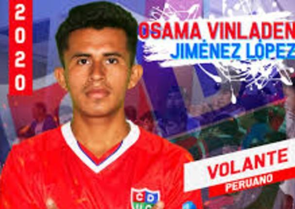 Futbolista peruano, Osama Vinladen, causa sensación en internet