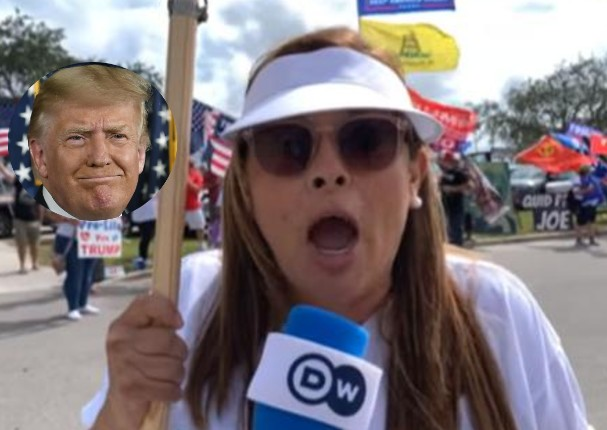 Peruana simpatizante de Trump indigna redes sociales al pedir que no viajen más a EE.UU.