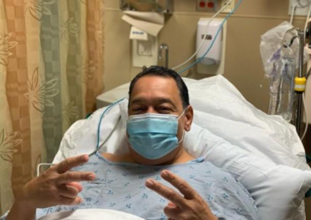 Tito Nieves lanza mensaje de agradecimiento tras salir de una operación