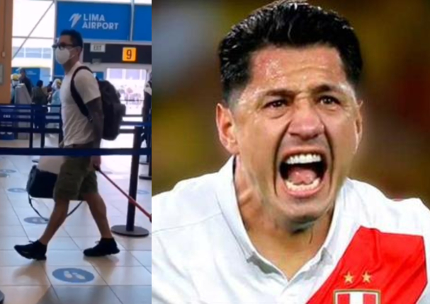 Gianluca Lapadula retorno a Italia tras su debut con Perú