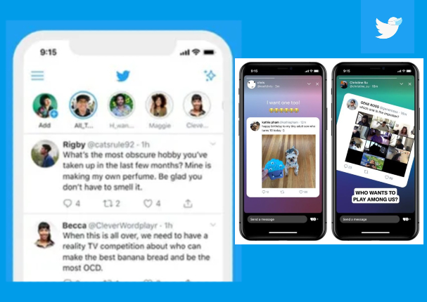 Twitter se suma a las actualizaciones y añade 'historias'